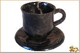 Рюмки и бокалы Кофе из обсидиана