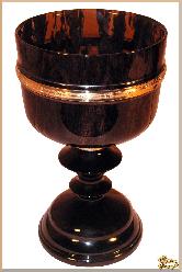 Рюмки и бокалы Кубок из обсидиана