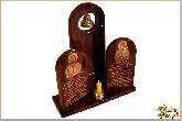 Молитвенник О38 О11 из обсидиана