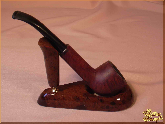 Курительный аксессуар Подставка для трубки Мужик из обсидиана
