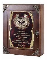 Ключница Подкова (сердце) Как подкову на дверь прибиваем...