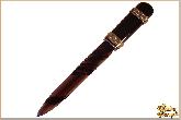 Канцелярский нож Бизнес из обсидиана