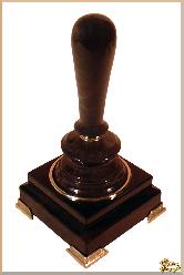 Рукоятка для печати Классическая из обсидиана