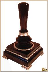 Рукоятка для печати Авангард из обсидиана