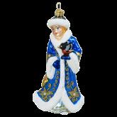 Ёлочная игрушка из Польши Снегурочка