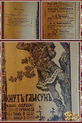 Полное собрание сочинений Кнута Гамсуна, том 3, книга 2, 1910 г.