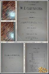 Полное собрание сочинений М. Е. Салтыкова, том 10, 1906 г.