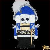 Дизайнерская игрушка ручной работы Щелкунчик синий