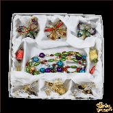 Набор ёлочных украшений ручной работы пр-во Чехия Насекомые