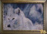 Картина Белые волки