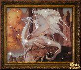 Картина Белый Дракон