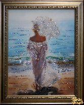 Картина Влюбленная в море