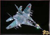 Картина Военный истребитель