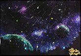 Картина Звездопад