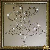 Картина Близнецы 35х35 см