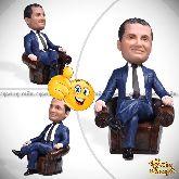 Кукла шарж бизнесмену «В кресле»