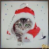 Картина Кот Новый год