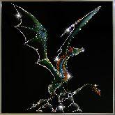 Картина Крылатый дракон