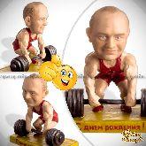 Кукла шарж для мужчины «Сила в мышцах»