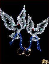Картина Любовь и голуби