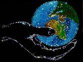 Картина Мир в руке