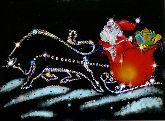 Картина Мороз в пути