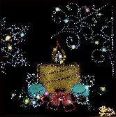 Картина Новогодняя свеча