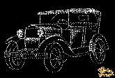 Картина Ретро-автомобиль