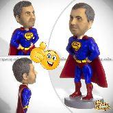 Кукла шарж для мужчины «Супермен»
