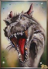 Картина Свирепый Дракон