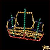 Ёлочная игрушка ручной работы пр-во Чехия Корабль
