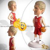 Кукла шарж баскетболисту «Звезда баскетбола»