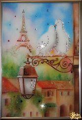 Картина Голуби в Париже