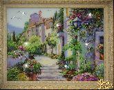 Картина Цветущий город (Большой)