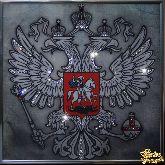 Картина Герб (серебро)