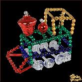 Ёлочная игрушка ручной работы пр-во Чехия Поезд