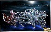 Картина Новогодняя Тройка