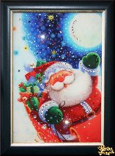 Картина Санта Клаус