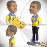 Кукла шарж для мужчины «Свободный стиль»
