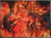 Картина Огненный конь