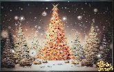 Картина Новогодняя елка