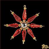 Ёлочная игрушка ручной работы пр-во Чехия Звезда