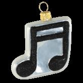 Ёлочная игрушка из Польши Музыкальная нота