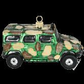 Ёлочная игрушка из Польши Военная броне-машина