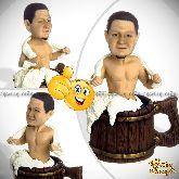 Кукла шарж для мужчины «Баня»