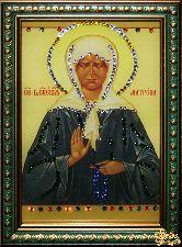 Икона Матрона Московская малая