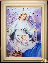 Икона Ангел-Защитник малая
