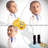 Кукла шарж врачу «Заботливое сердце»