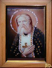 Икона Серафим Саровский малая