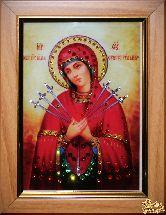 Икона Божией Матери Семистрельная малая